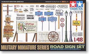 1/48 Road Sign Set